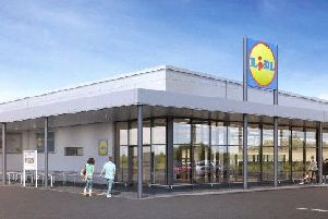 How the new Lidl store could look