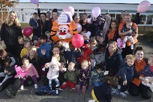 Little Tigers Day Care Nursery, Ravensthorpe  children and staff who have gained the Millie's Mark award EMN-191029-120546009