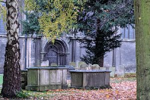 Peterborough Cathedral graveyard PHOTO: Supplied