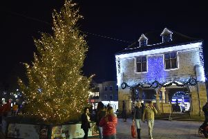 The Christms tree in the city centre