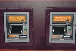 ATMs at Sainsbury's in Bretton EMN-191120-125322009