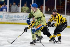 Petr Stepanek scored twice for Phantoms in Milton Keynes.
