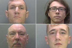 Peterborough criminals.