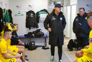Pre-match plans are made / Picture by Neil Holmes