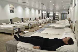 The new Sleep Room at John Lewis in Queensgate