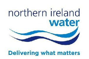 Mayor of Causeway Coast and Glens Borough Council Councillor Sean Bateson is NI Water's Brian Donaghy, Wastewater Manager