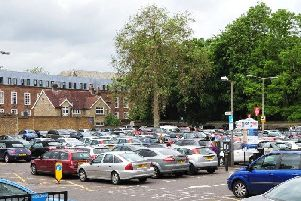 Car Haven Car Park at the back of the Town Hall