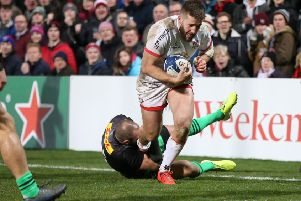 Ulster's Stuart McCloskey. Pic by INPHO.