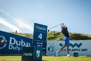 rory mcilroy during the Pro-Am at Ballyliffin