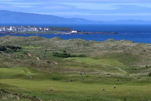A general view of The Royal Portrush Course, Portrush.