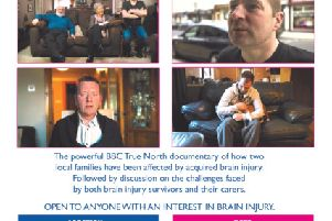 The Brain Injury Foundation is holding a series of local information evenings following the overwhelming reaction to a recent televison documentary.