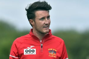 Annagh United manager Ciaran McGurgan