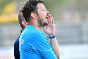 Gosport Borough manager Craig McAllister. Picture: Neil Marshall