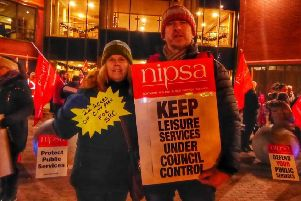 Unions have united to protest at any attempt to privatise leisure services in the Armagh, Banbridge and Craigavon area