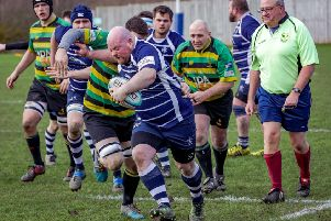 Will Scupham on the attack. Photo: David Dales.