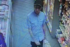 If you recognise this man, please call police on 101, ANL-190314-115051001