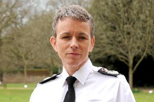 Hampshire chief constable Olivia Pinkney