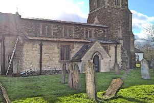 Lead was stolen from the roof of St John's The Baptist Church