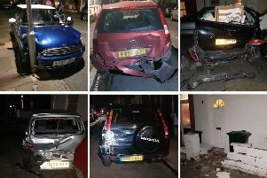 There were 14 cars damaged during the incident in january in Sydney Road SUS-190424-114823001