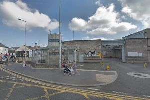Lurgan Police Station Photo by Google