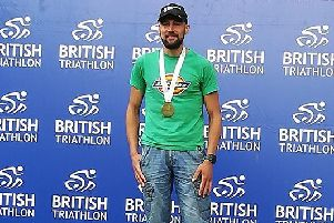 Jon Bromfield won his age group with a brilliant time in Leeds EMN-190613-161137002