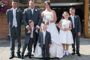 Kieran Mayhew, 37, of Southcourt in Aylesbury and his wife and five children