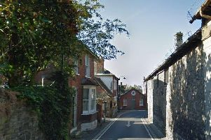 Park Road around the front of Katjia's home. Picture via Google Streetview