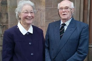Marjorie and Michael Cawdery.