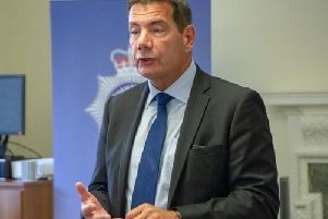 Chief constable Nick Adderley discussed the changes at County Hall today