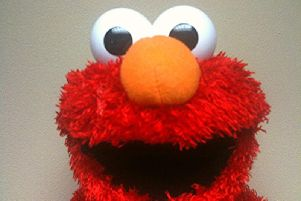 A motorcyclist wearing an Elmo mask was spotted driving through Shoreham. Picture: Flickr