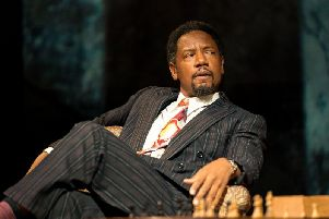 Tory Kittles as Paul Robeson Photo by Manuel Harlan