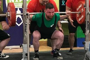Toby Clarke, head coach at a gym in Lurgan, is heading to the Commonwealth Powerlifting Championships in St Johns, New Foundland, Canada later this month.