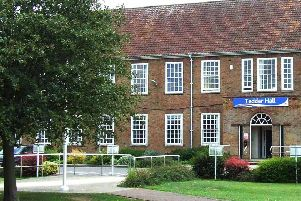 ELDC headquarters at Tedder Hall, Manby.