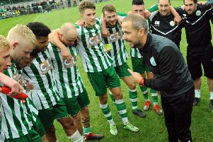 Chichester City have had a superb run in the FA Cup / Picture by Kate Shemilt