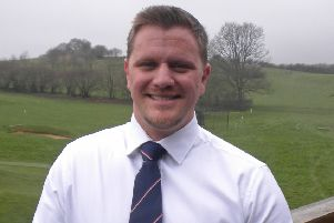 Andy Corbett, the new general manager at Petersfield