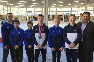 Portsmouth gymnasts shone in the Czech Republic