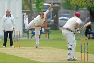 Gosport Borough all-rounder Craig Stares took four for 41. Picture: Ian Hargreaves