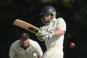 Mike Hallett hit 130 for Hayling Island. Picture: Mick Young