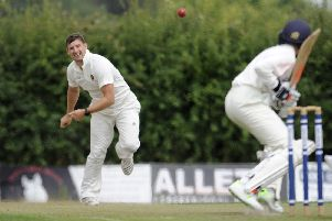 Havant II bowler Andrew Ruston took four for 29. Picture: Ian Hargreaves
