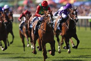 Billesdon Brook captures the 1000 Guineas. Picture: PA Images