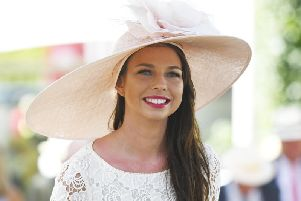 Glamour at Glorious ... today is Ladies' Day / Picture by Malcolm Wells