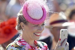 It's Ladies' Day at Goodwood - always an occasion high on glamour and glitz / Picture by Malcolm Wells