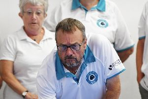 The Portsdown Short Mat bowls charity event. Picture: Neil Marshall (180812-009)
