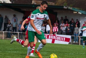 Dan Smith scored for Bognor. Picture: Tommy MacMillan