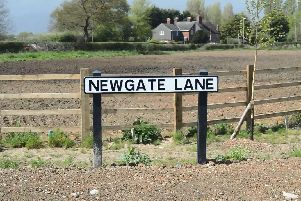 Newgate Lane in Fareham. Picture: David George