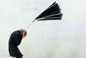 Strong gusting winds expected