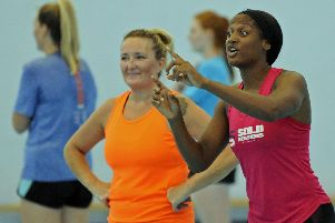 Netball sessions are taking place for those looking to get back into the sport or get involved with walking netball. Picture: Ian Hargreaves