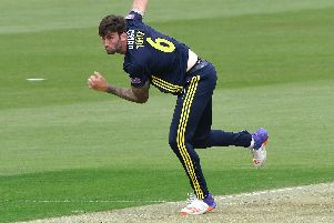 Reece Topley has left Hampshire. Picture: Neil Marshall