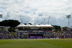 Tickets for England's one-day international against Pakistan at the Ageas Bowl next year are in high demand. Picture: Neil Marshall
