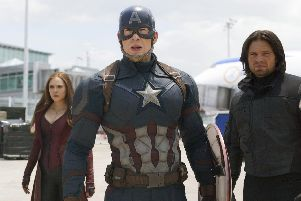 Captain America and the Avengers are coming to the UK next year Picture: Disney/ Marvel via AP